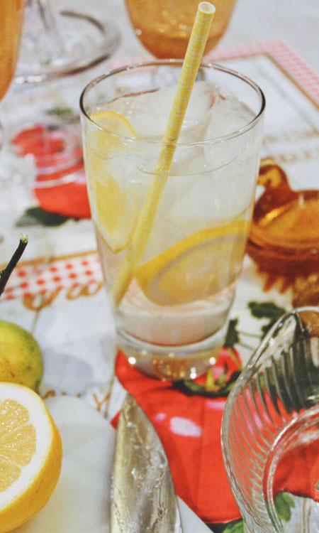 lemon diy lemonade glass