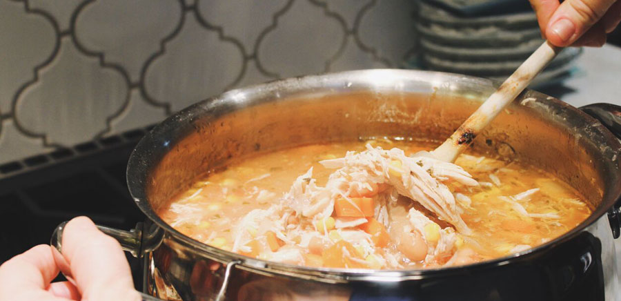 perfect recipe stirring soup