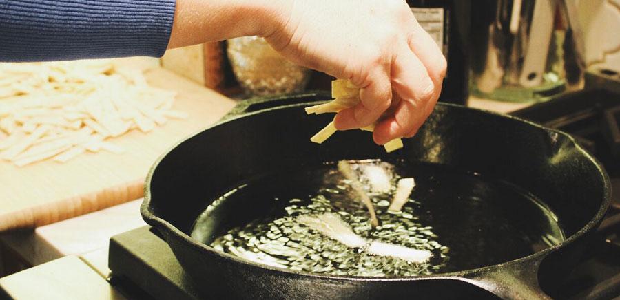 perfect recipe tortilla strips pan